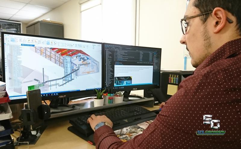 bureau detudes - logiciel 3d